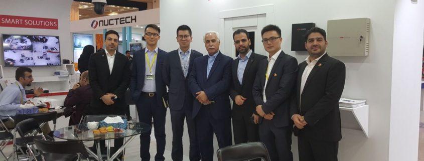 بازدید مدیران منطقه خاورمیانه هایک ویژن