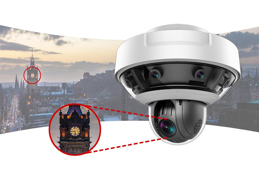 همه چیز در خصوص دوربین PanoVu شرکت هایک ویژن