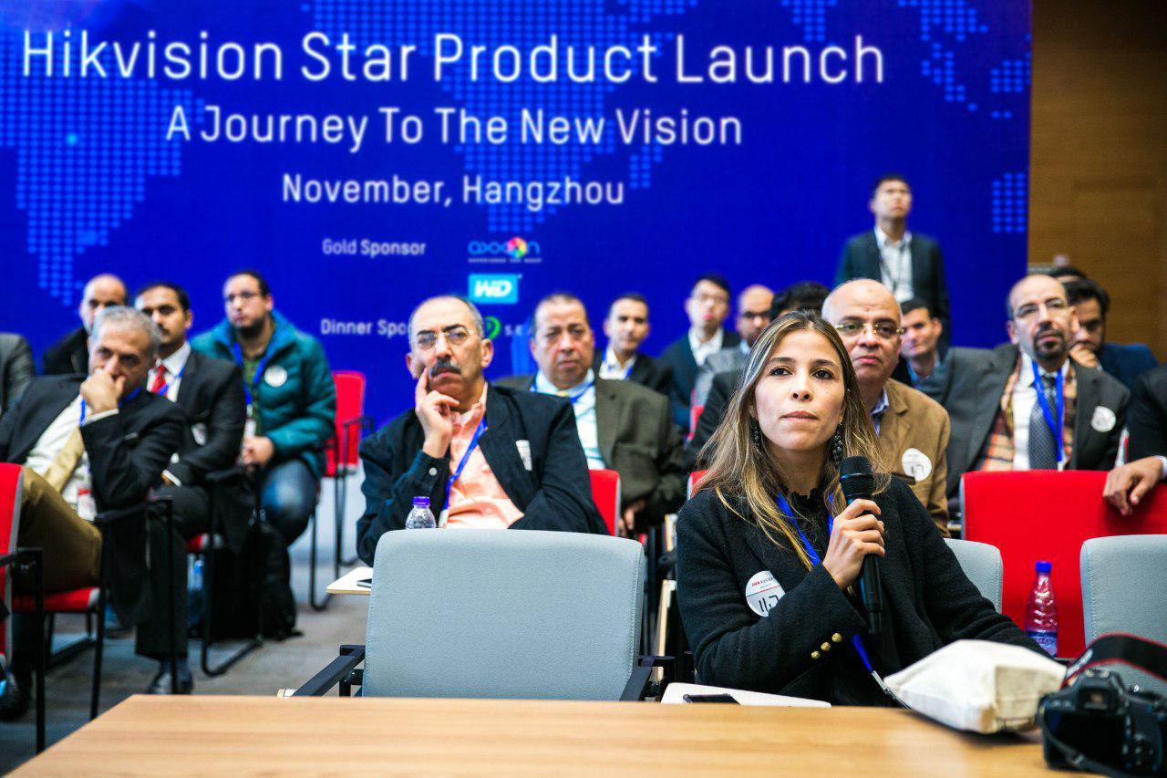 همایش محصولات Star Product هایک ویژن در ماه نوامبر در Hangzhou، چین با حضور مدیران پرشیاسیستم برگزار شد .
