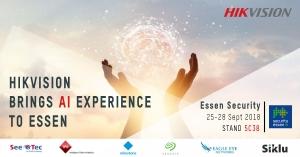 هایک ویژن در نمایشگاه Essen ، تجربه هوش مصنوعی را برای مشتریان خود ارائه کرد !