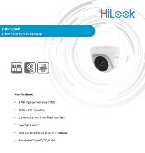 بررسی دوربین مداربسته دام THC-T110-P هایلوک