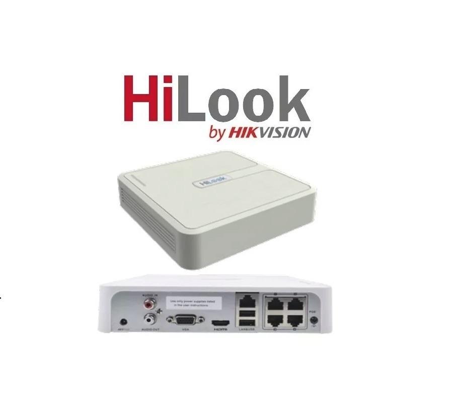 بررسی دستگاه ضبط ۴ کانال NVR-104-B هایلوک