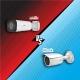 مقایسه دوربین هایلوک مدل بولت IPC-640H-V و IPC2324LBR3-SP(Z28)-D یونی ویو