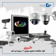 نحوه مشاهده تصویر دوربین IP بر روی لپ تاپ + عکس